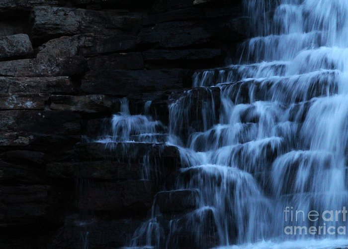 Devils Den Greeting Card featuring the photograph Dam by Jennifer Churchman