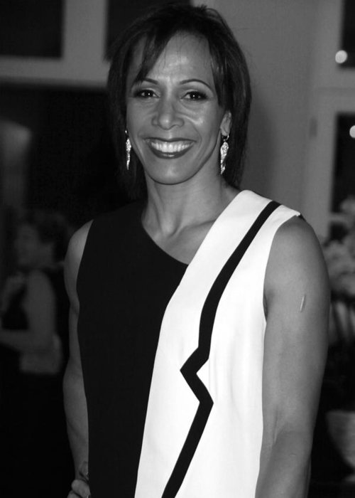 Jezcself Greeting Card featuring the photograph Dame Kelly Holmes 1 by Jez C Self