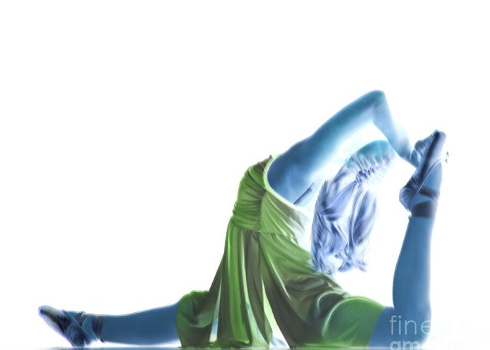 Ballet Greeting Card featuring the photograph Dance by Timothy J Berndt