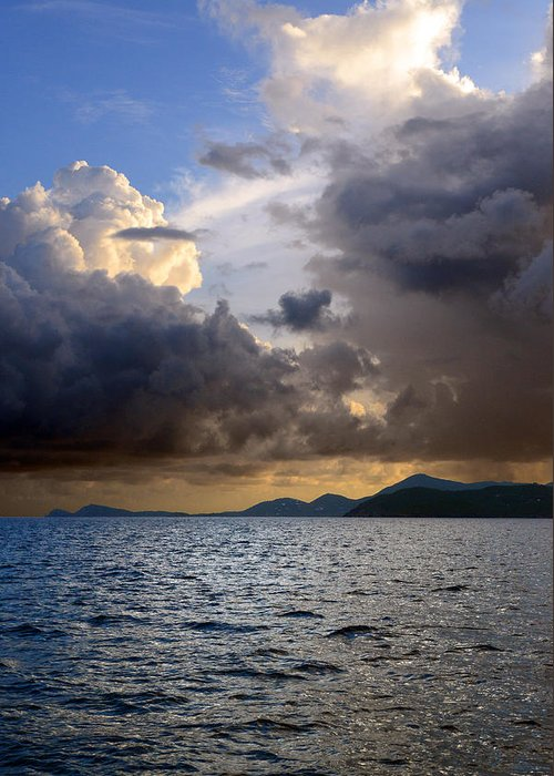 Clouds Greeting Card featuring the photograph Dark And Stormy by  Michael Glenn