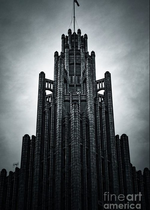 Manchester Greeting Card featuring the photograph Dark Grandeur by Andrew Paranavitana