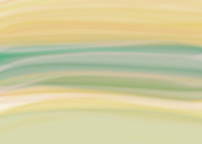 Digital Painting Greeting Card featuring the digital art Daydreams 1 by Bonnie Bruno