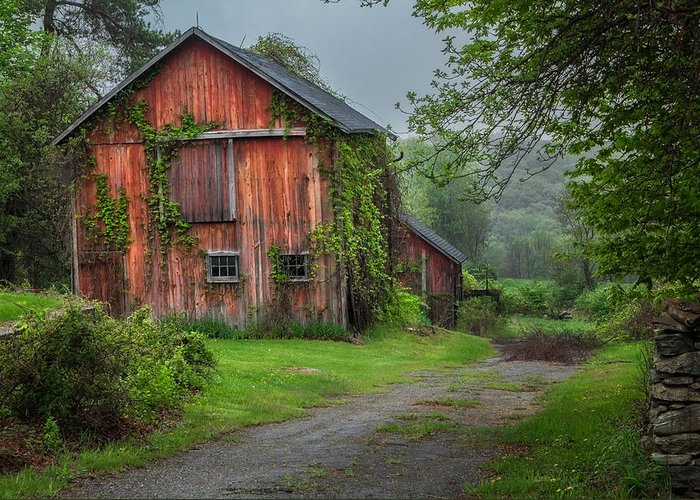 Bucolic Greeting Card featuring the photograph Days Gone By by Bill Wakeley