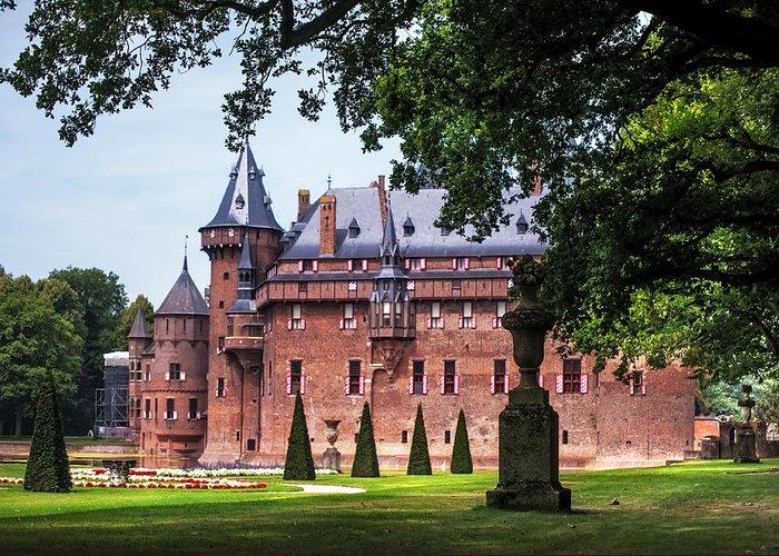 Utrecht Greeting Card featuring the photograph De Haar Castle 3. Utrecht. Netherlands by Jenny Rainbow