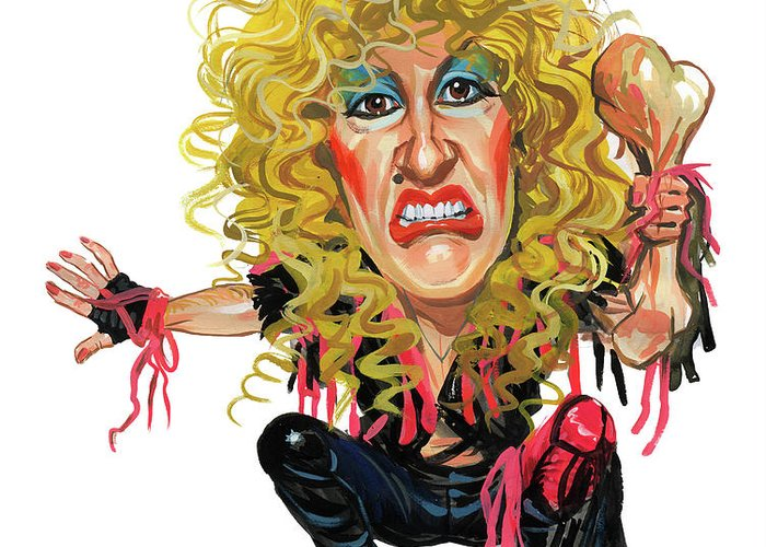 Dee Snider Greeting Cards