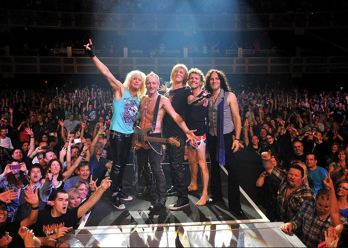 Def Leppard Greeting Cards