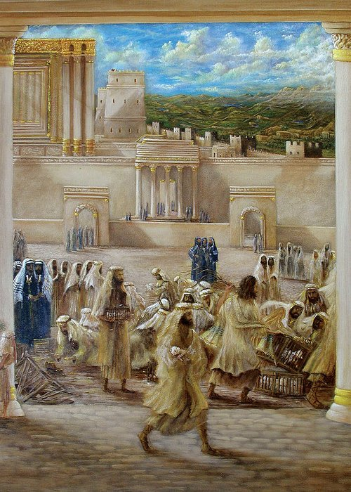 Jesus Greeting Card featuring the painting Deliverance by Robert Wright