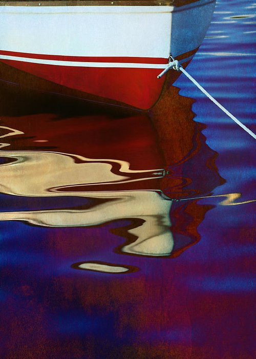 Boats On Water Photographs Greeting Cards