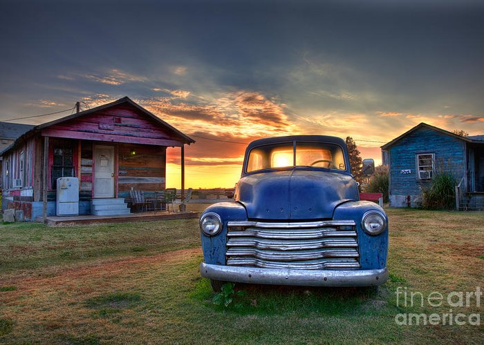 Classic Chevrolet Truck Greeting Cards