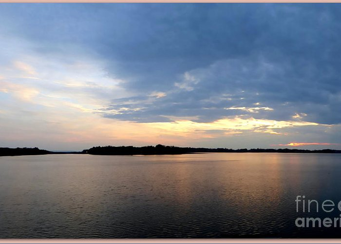 Lake Greeting Card featuring the photograph Delta Lake Panoramic View by Rennae Christman