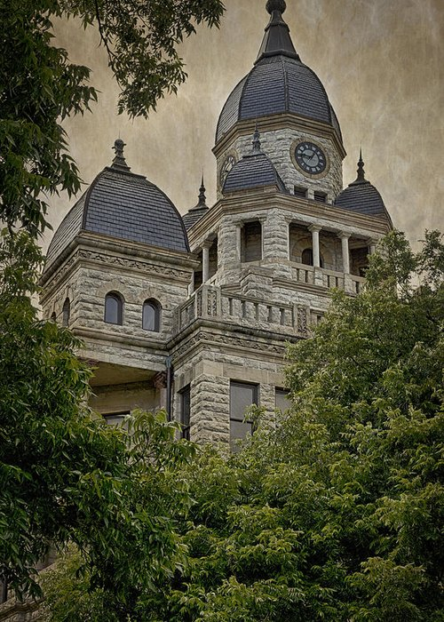 Courthouse Towers Greeting Cards