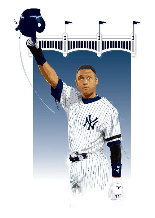 Yankee All Star Greeting Cards