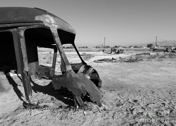 Ruin Greeting Card featuring the photograph Desert Apocalypse by Trekkerimages Photography