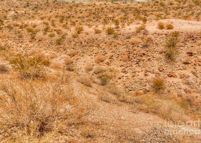 California Greeting Card featuring the photograph Desert Vista by Deborah Smolinske