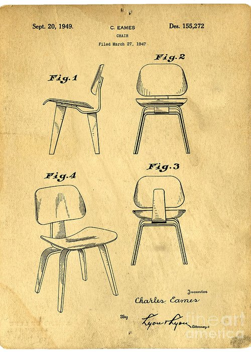 Chairs Drawings Greeting Cards