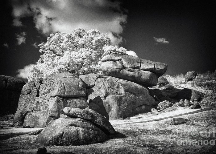Battlefield Greeting Card featuring the photograph Devils Den - Gettysburg by Paul W Faust - Impressions of Light