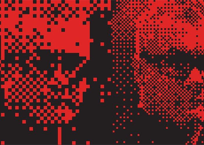 Pop Art Digital Art Greeting Card featuring the digital art Dh 013 Tnm by Mark Van den dries