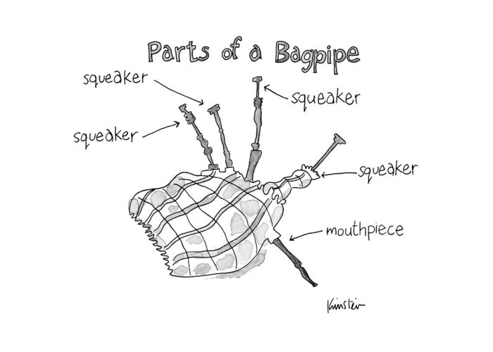 Bagpipe Greeting Cards