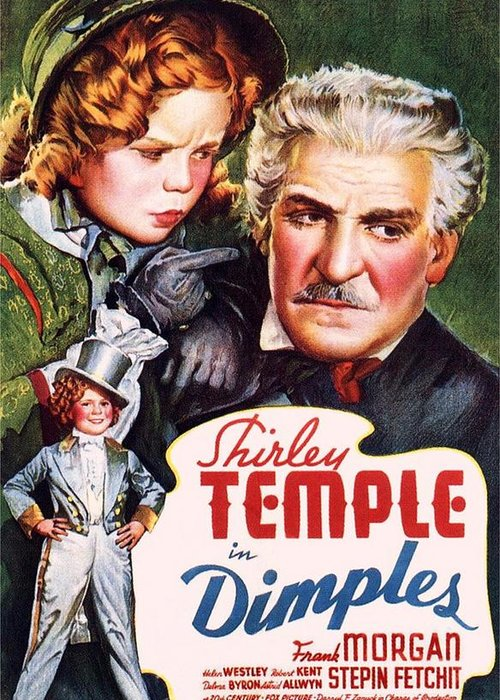 Dimples Greeting Card featuring the photograph Dimples by Movie Poster Prints