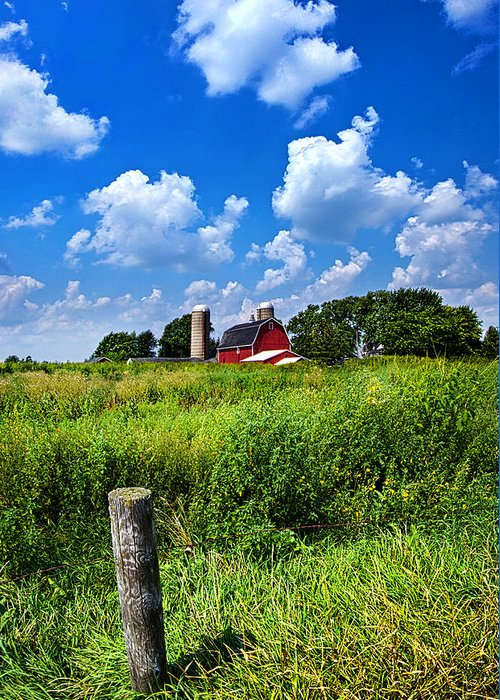 Barn Greeting Card featuring the photograph Discover Wisconsin by Phil Koch
