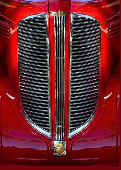 Dodge - Plymouth - Chrysler Automobiles Greeting Cards