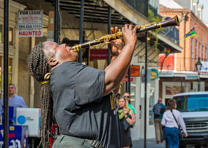 French Quarter Greeting Card featuring the photograph Doreen Ketchens 2 by Steve Harrington
