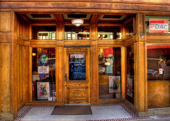Building Greeting Card featuring the photograph Downtown Athletic Club - Prescott Arizona by David Patterson