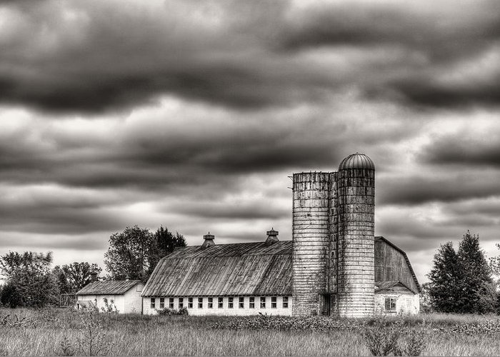 Dramatic Skies Greeting Card featuring the photograph Dramatic Skies by JC Findley