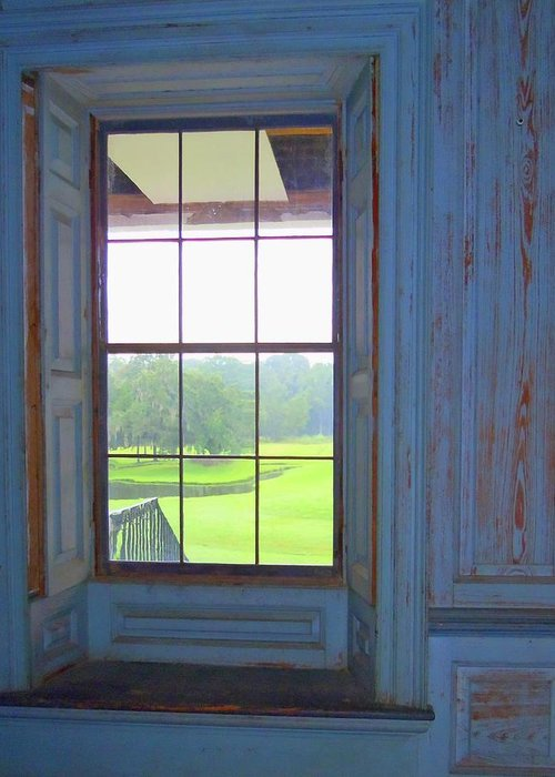 Drayton Hall Greeting Card featuring the photograph Drayton Hall 8 by Ron Kandt