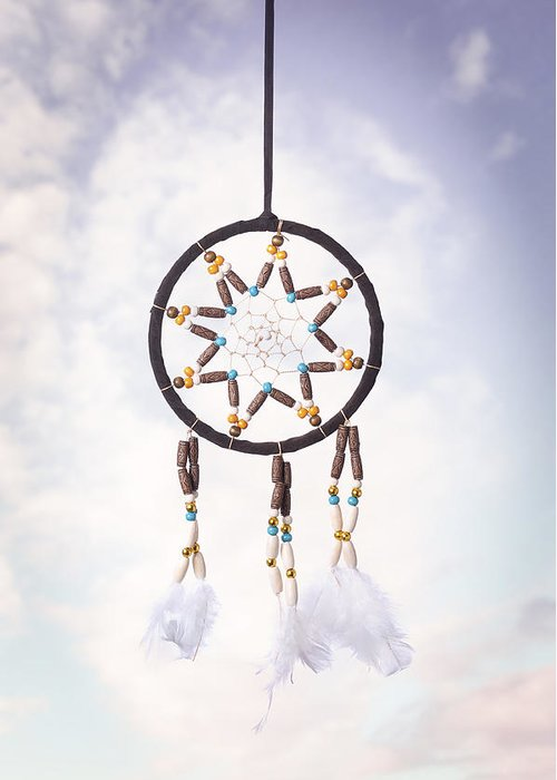 Dream Greeting Card featuring the photograph Dream Catcher by Amanda Elwell