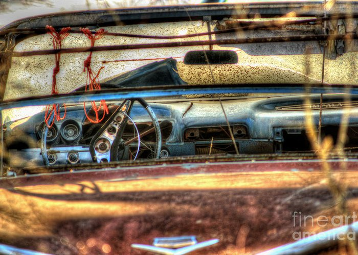 60's Convertible Impala Greeting Card featuring the photograph Dreamcatchers by Thomas Danilovich