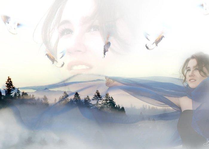 Lisa Knechtel Greeting Card featuring the photograph Dreams Soar by Lisa Knechtel