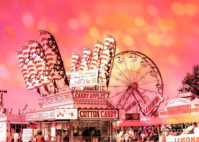 Carnival Fun Festival Art Decor Greeting Cards