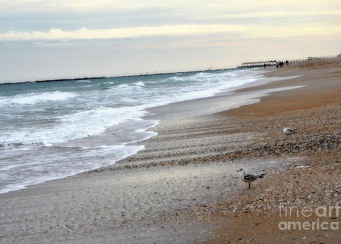 Ocean Photography Greeting Card featuring the photograph Dreamy Ocean Beach North Carolina Coastal Beach by Kathy Fornal
