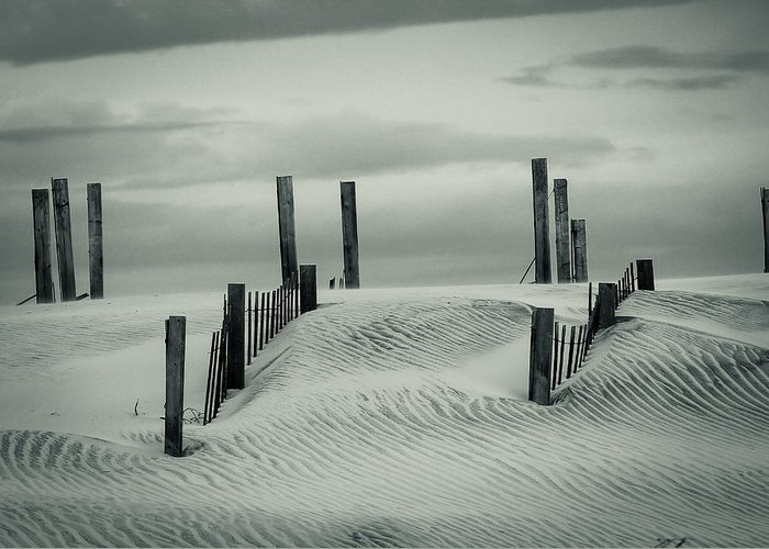 Dunes Greeting Card featuring the photograph Drifting Dunes by Tom McGowan
