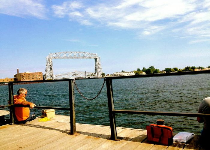 Fishermen Greeting Card featuring the photograph Duluth Docks by Danielle Broussard