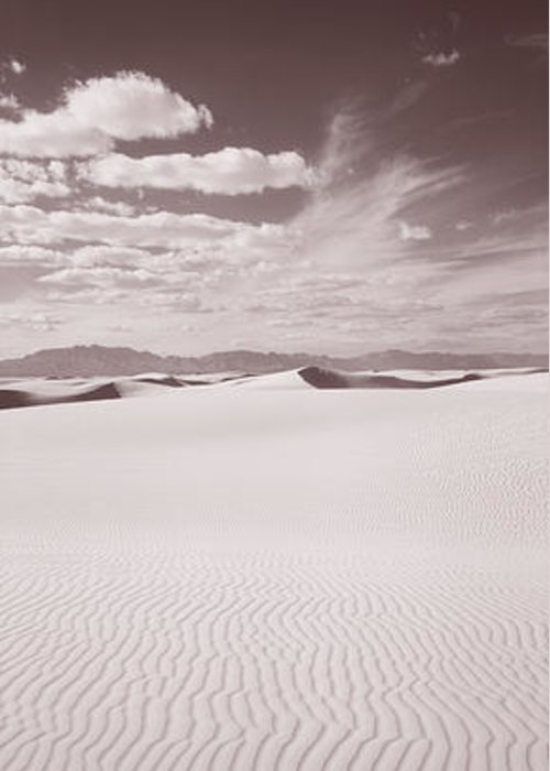 White Sands National Monument Greeting Cards