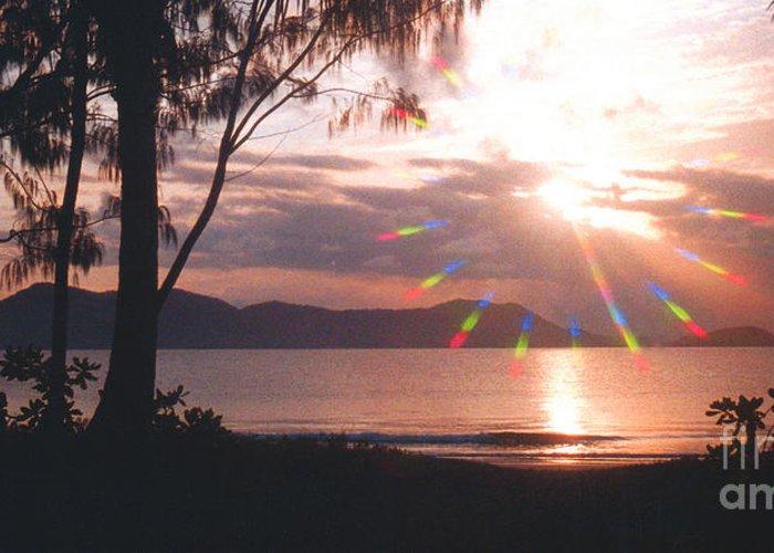 Australia Greeting Card featuring the photograph Dunk Island Australia by Jerome Stumphauzer