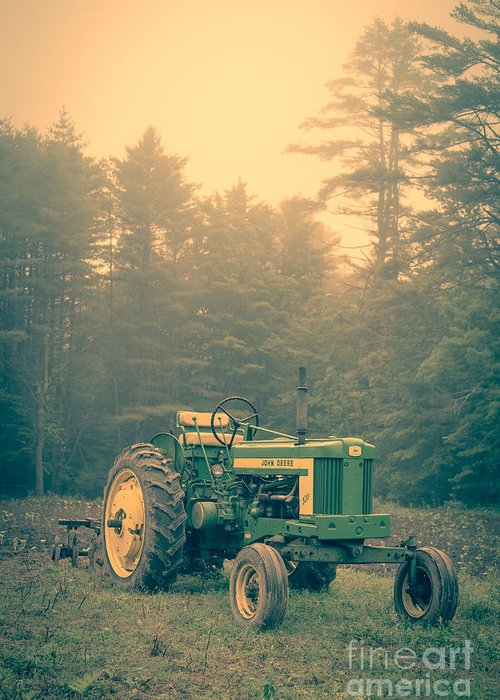 Old Farm Equipment Greeting Cards