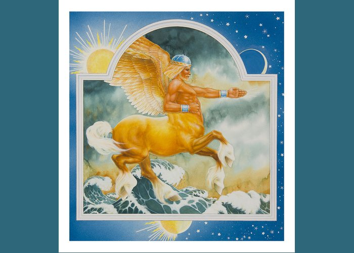 Fairy Tale Greeting Card featuring the painting East Of The Sun West Of The Moon by Lynn Bywaters