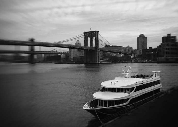 East River Greeting Card featuring the photograph East River Afternoon by Ben Shields