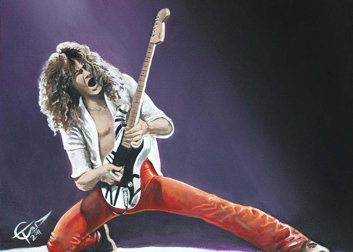 Van Halen Greeting Cards