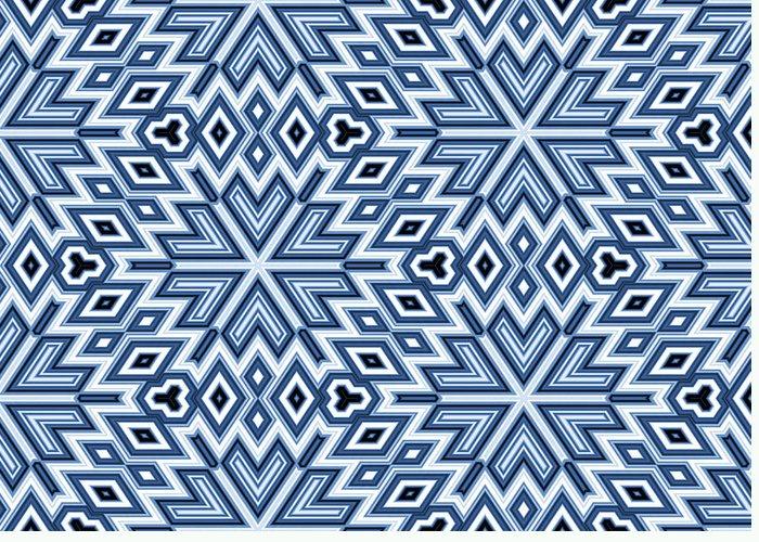 Blue Greeting Card featuring the digital art Egyptian Pyramidal Cubes by Daniel Hagerman