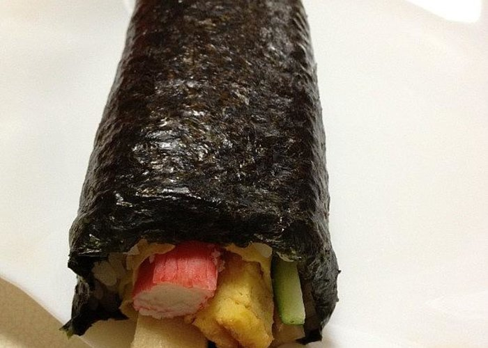 Greeting Card featuring the photograph Eho Maki Yummy by Tokyo Sanpopo