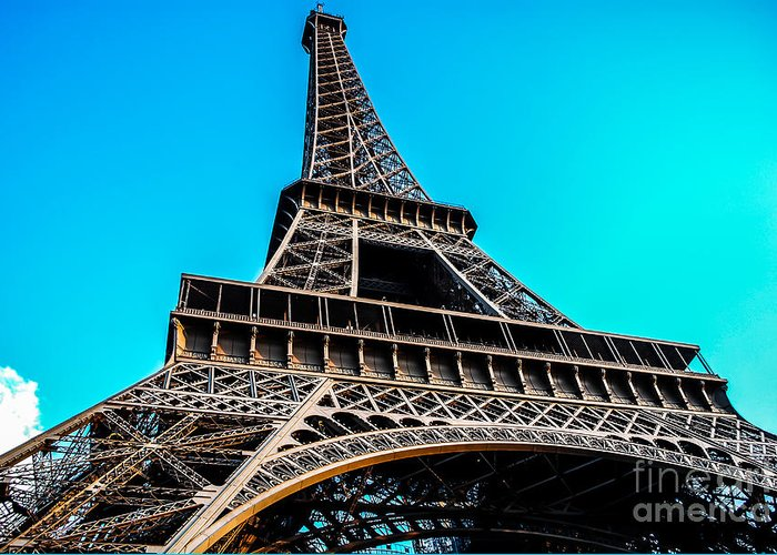 Paris Greeting Card featuring the photograph Eiffel In Spring by Remi D Photography