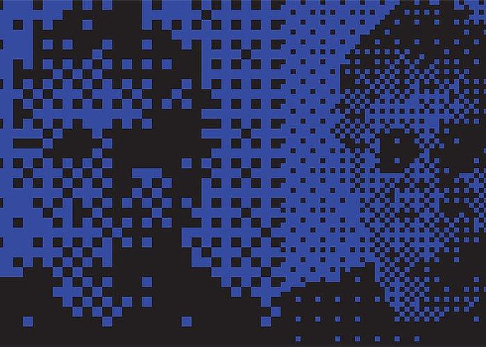 Pop Art Digital Art Greeting Card featuring the digital art Ej017 Tnm by Mark Van den dries