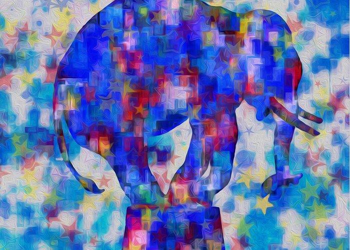 Figure Based Digital Art Greeting Cards