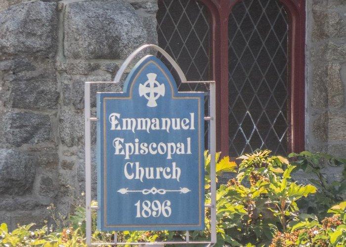 Bel Air Greeting Card featuring the photograph Emmanuel Episcopal Church by Robert Gross