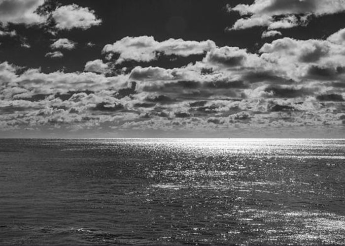 Coastal Greeting Card featuring the photograph Endless Clouds II by Jon Glaser