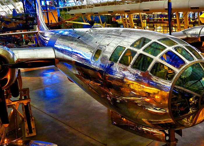 Smithsonian Air And Space Museum Steven F. Udvar-hazy Center Greeting Cards